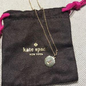 """Kate Spade initial pendant """"J"""""""